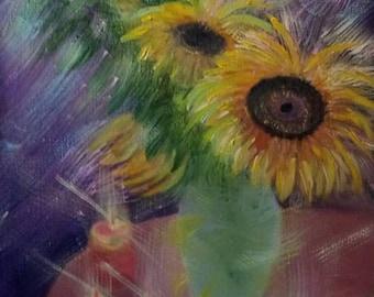 Romantic Sunflowers