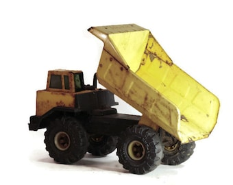 Mighty Tonka Dump Truck Gardening Decor or Planter