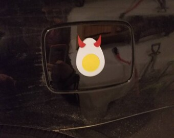 Deviled egg permanent decal, Oracle 651