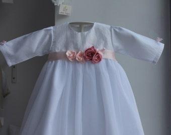 Super christening gown girl summer/2parts