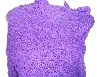 purple wrap/shawl