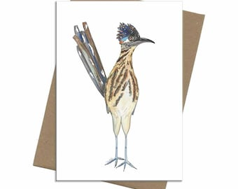 Road Runner | Blank Card