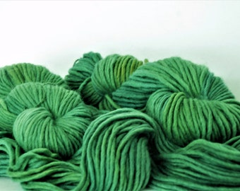 APPLEOAK Plant Dyed StOCKHOLM  ~ FROG PRINCESS ~ plant dyed  ~ Bulky
