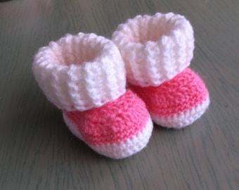 Crocheted Baby Booties