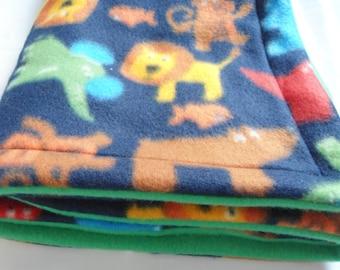 Fleece Animals Blanket