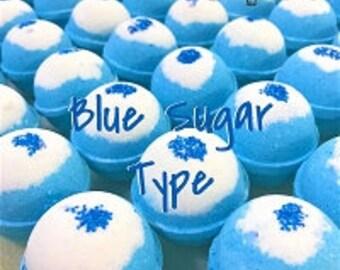Blue Sugar 4.5 oz Bath Bomb
