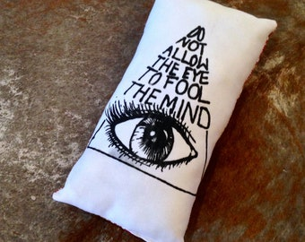 Small All Seeing Eye Pillow