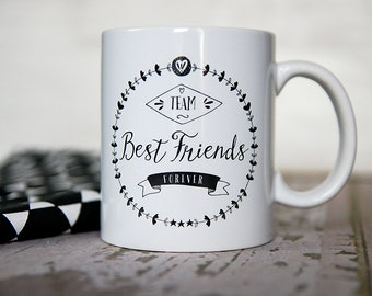 The Mug of the BFF (best friends forever)