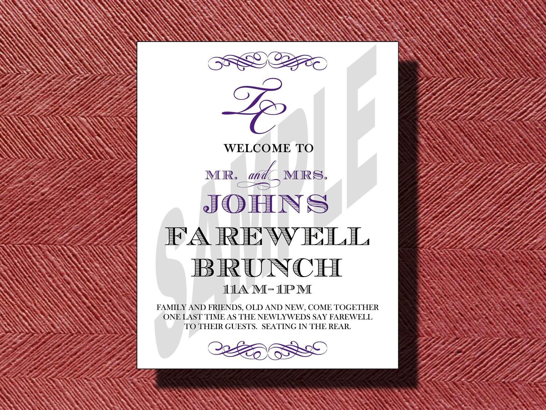 Farewell Brunch Invitation Wording   Invitationjpg.com