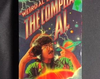 Weird Al Yankovic The Compleat Al VHS 1985 1st Release