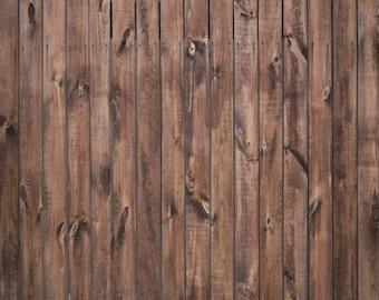 Canvas Brown Wood Floor Backdrop Faux 3ft x 4ft Photo Prop #103436 Photo Prop Backdrop