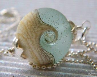Ocean Wave Beach Necklace, Bridesmaid Necklaces, Waves, Beachy Necklace, Seyshelles