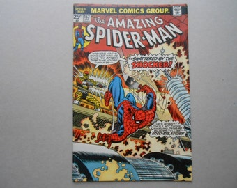 Amazing Spider-Man # 152; VS Shocker; Spider-Man Homecoming Movie; Gwen Stacy Death Story; Very Fine Comic Book!