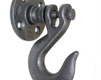 Clevis Hook Coat Rack