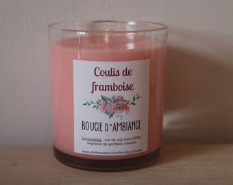 Candle of atmosphere to framboise◄ ►Coulis soy wax