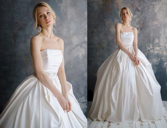 Malida taffeta wedding dress quinceanera wedding dress junglespirit Gallery