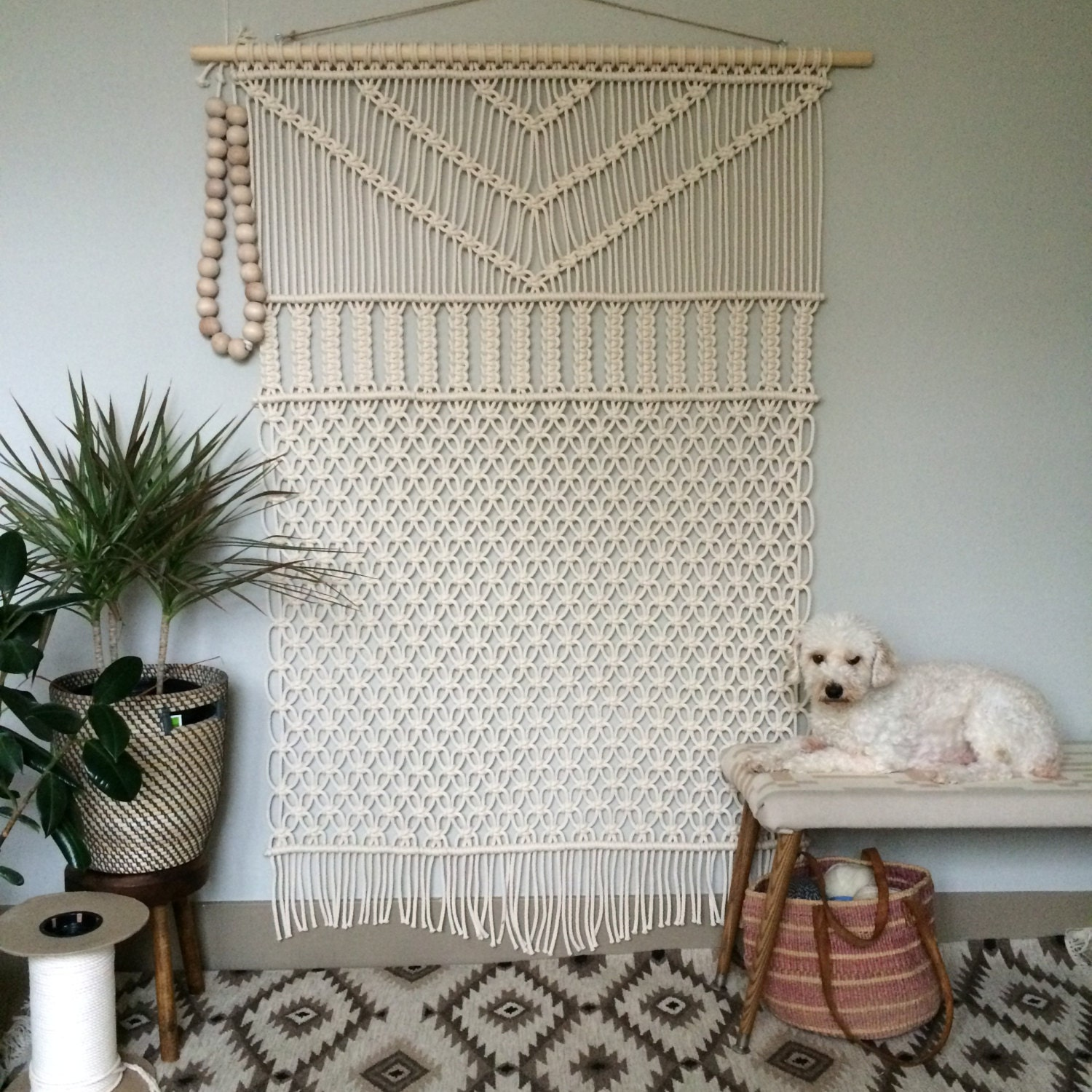 Large Wall Hangings Macrame Wall Hanging Large Forest