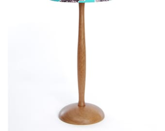 Wooden Table Lamp - handturned in England