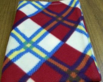 Fleece Blanket, Plaid Blanket, Throw Blanket, Soft Blanket, Child Blanket, Bedroom Decor, Teen Blanket, Baby Blanket, Gift