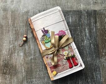Junk Journal/ Prayer Journal /Traveler's Notebook ***examples only- please see description***