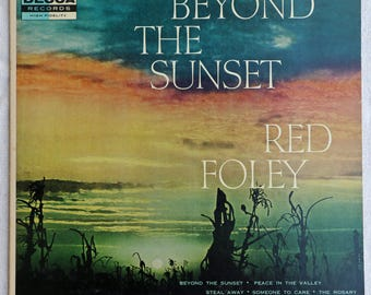 Beyond The Sunset - Red Foley - Vinyl - Decca - DL 8296 - 1958
