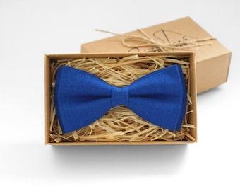 Blue Mens Bow Tie, Blue bow tie, Blue tie, blue necktie, boys bow ties, bow ties for men, men bow tie, bow tie for wedding, stocking stuffer