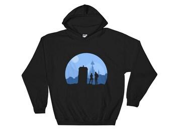 Doctor Who Gallifrey Ball- Hooded Sweatshirt