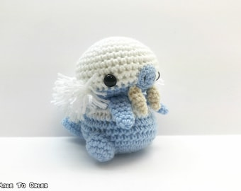 Crochet Walrein Inspired Chibi Pokemon