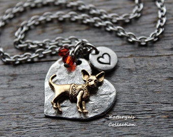 Chihuahua Necklace, Chihuahua Jewelry