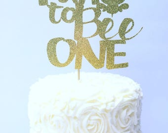 Fun to Bee One Cake Topper / First Birthday Cake Topper / Bumble Bee Party