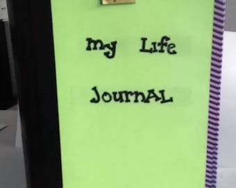 My Life Journal And Smashbook