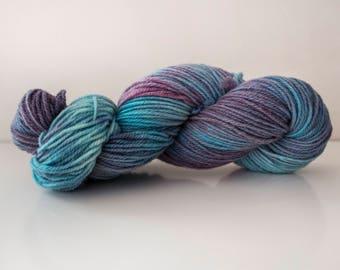 Nebular - 100g Skein - Hand Dyed Yarn - 100% Llanwenog Wool