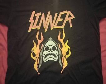 Nouvelle marque mort pécheur chemise.