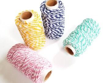 Twine - Choose A Color - 65 Feet - Hemp Twine - Biodegradable