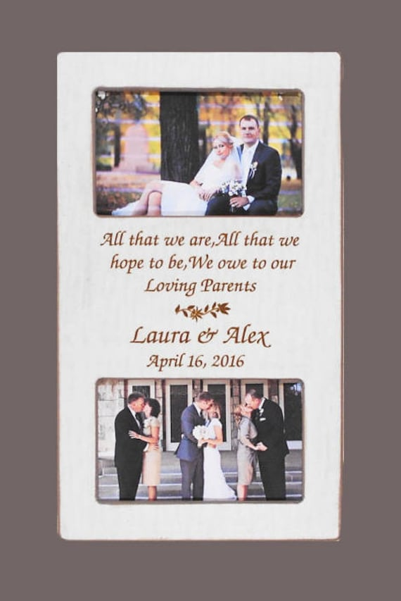 Wedding Gift Parents Personalized Wedding Gift Parents Bride