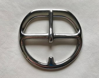 "3"" Cinch Buckles - Flat Double Bar Stainless Steel"