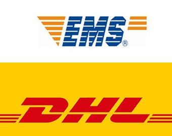 Upgrade DHL / EMS fast service