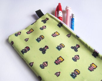 Earthbound Mother 2 Pencil Case Makeup Cosmetic Bag canvas bag pouch