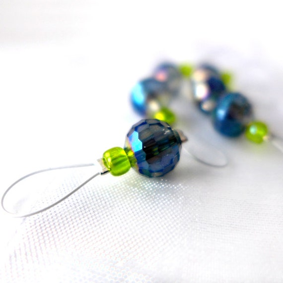 The Only Water in the Forest is the River - Doctor Who Series - Six Snag Free Stitch Markers - Fits Up To 5.5 mm (9 US) - Limited Edition