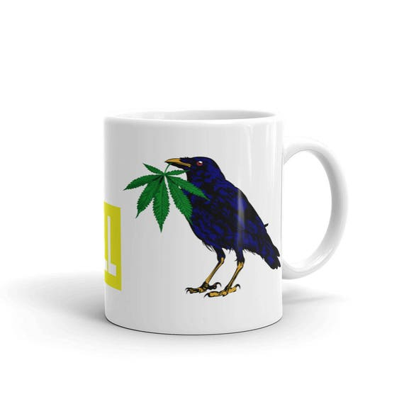 weed crow, Coffee Mug