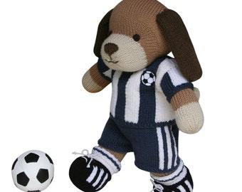 Football Kit - Knit a Teddy