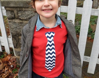 Valentine's Day Easter Bunny Egg Hunt Tie Applique Shirt Long Sleeve T Shirt Kids - Chevron and more