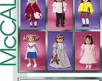 DOLL COTHES PATTERN! Sale / First American Girl Felicity - Maryellen - Samantha