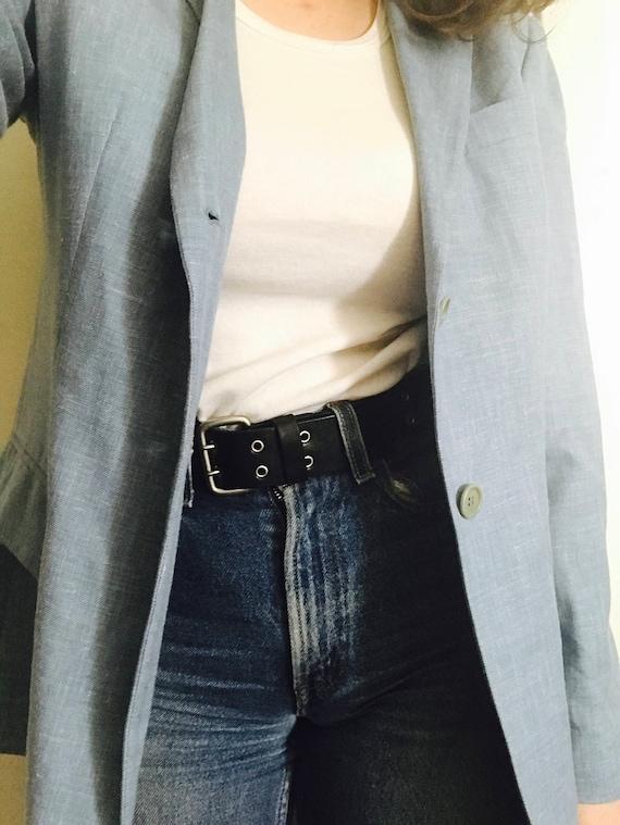 90s Armani Linen Suit Jacket