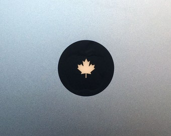 Ohhhh Canada ! Maple Leaf Macbook Decal / Macbook Sticker