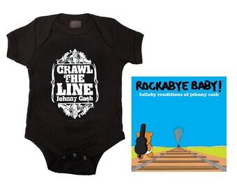 Johnny Cash Baby Gift Set