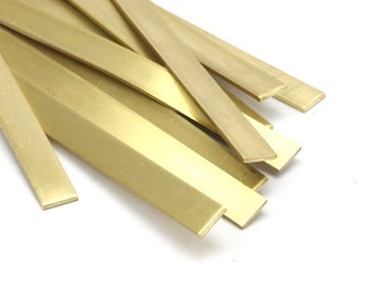 5 Raw Brass Bracelet Stamping Blank Bangle  ( 6x145x1mm)  D224
