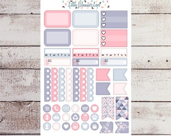 Happy Easter Boxes and Icon Planner Stickers