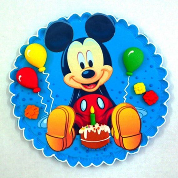 Items similar to Mickey Mouse, Mini Mouse, Edible cake ...