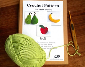 Crochet Gift Pattern / Gift for Crocheter / Printed Paper Pattern / Craft Gift / Christmas Crochet Gift / Eco-friendly